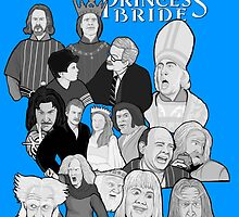 the Princess Bride character collage by gjnilespop