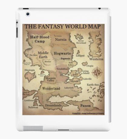 Fantasy World Map iPad Case/Skin