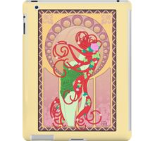 Poison Ivy Art Nouveau iPad Case/Skin