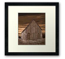 Remote Church Framed Print