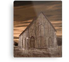 Remote Church Metal Print