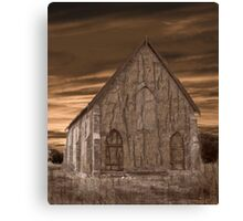 Remote Church Canvas Print