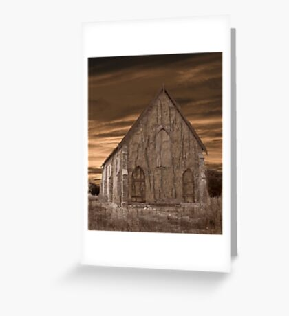 Remote Church Greeting Card