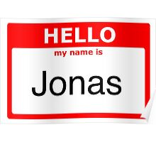 My name is Jonas Poster