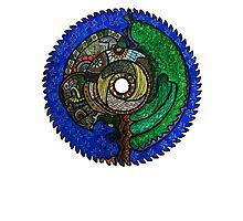 Tree Saw Blade (saw blade #3) Photographic Print