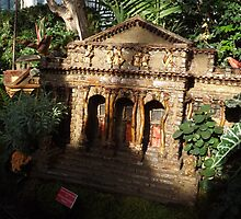 Model New York Public Library, New York Botanical Garden Holiday Train Show, Bronx, New York by lenspiro