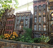 Model Buildings, New York Botanical Garden Holiday Train Show, Bronx, New York by lenspiro