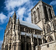 Looking Up at the York Minster #3 by Nicole Petegorsky