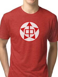 Red Army of China Air Force Roundel, 1946-1949 Tri-blend T-Shirt