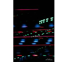 Alien lights Photographic Print