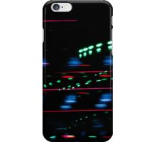 Alien lights iPhone Case/Skin