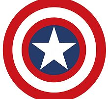 Captain America Shield by Leah Carmichael