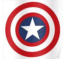 Captain America Shield Poster