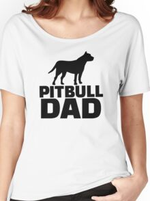 Pitbull Dad Women's Relaxed Fit T-Shirt