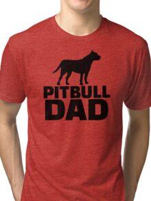 Pitbull Dad Tri-blend T-Shirt