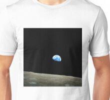 Apollo 8 Dec 24 Earthrise  by NASA Unisex T-Shirt