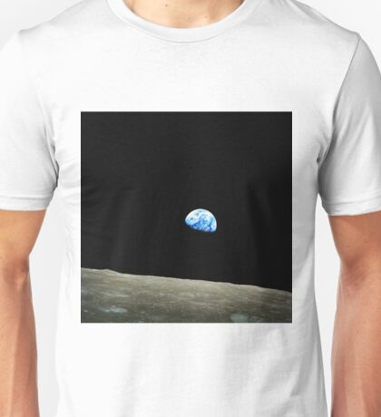 Apollo 8 Dec 24 Earthrise  by NASA Unisex T-Shirt