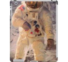 Apollo 11 A7L space suit worn by Buzz Aldrin on lunar surface  iPad Case/Skin
