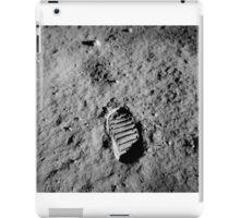 Apollo 11 Buzz Aldrins Moon Footprint by NASA iPad Case/Skin
