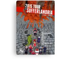 Tour of Sufferlandria 2015 Canvas Print