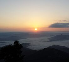 Extravagant Sunrise at Nagarkot, Nepal by Sammriddha Shrestha