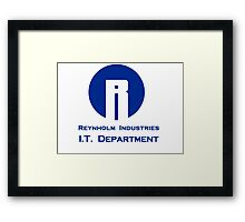 The I.T. Crowd Reynholm Industries Framed Print