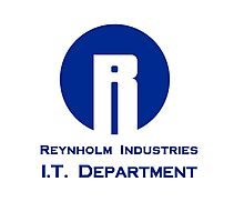 The I.T. Crowd Reynholm Industries Photographic Print