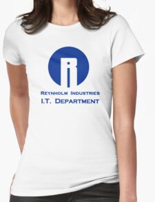 The I.T. Crowd Reynholm Industries Womens Fitted T-Shirt