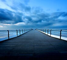 Pier at Twilight by PaulBradley