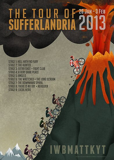 Tour of Sufferlandria 2013 by Grunter Von Agony