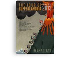 Tour of Sufferlandria 2013 Canvas Print