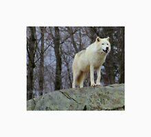 Arctic Wolf Watching Unisex T-Shirt