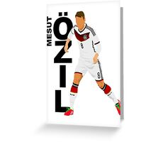 Mesut Özil - Minimalistic Design #1 Greeting Card