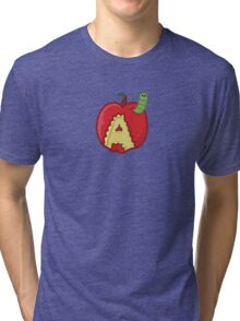 A is for apple Tri-blend T-Shirt