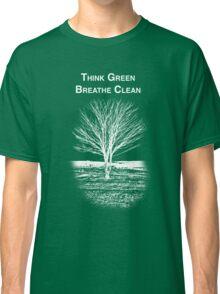 Tree Shirt (White Text/Image) Classic T-Shirt