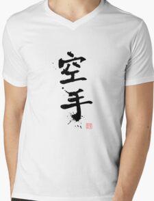 Kanji - Karate Mens V-Neck T-Shirt