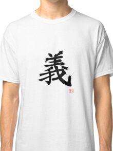 Kanji - Righteousness Classic T-Shirt