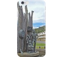 Pioneer Miners Monument iPhone Case/Skin