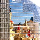 RT14 - Las Vegas Nevada - Excalibur Reflections by Buckwhite
