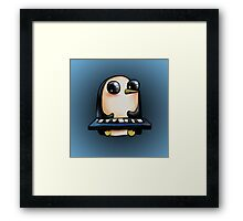 Gunter with Keyboard :: Adventure Time Framed Print