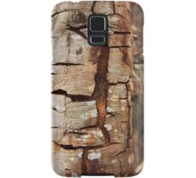 Cracking tree bark Samsung Galaxy Case/Skin
