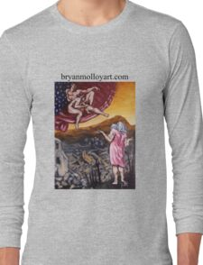 michelangelo spoof Long Sleeve T-Shirt