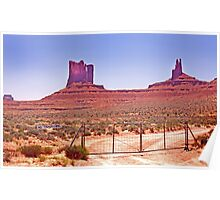 RT 14 - Monument Valley - Arizona/Utah Poster