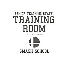 Smash School Training Room (Grey) Photographic Print