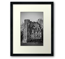Ruins of St. Mary's Abbey #2 Framed Print