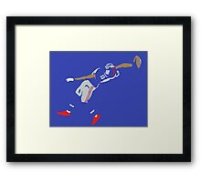 "The ""Catch"" II Framed Print"