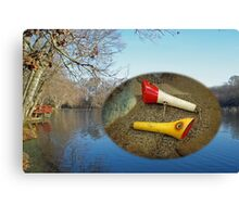 Berry Lebeck Ozark Lure 100 Series 3 Talkie Topper - Fishing Canvas Print