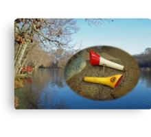 Berry Lebeck Ozark Lure 100 Series 3 Talkie Topper - Fishing Canvas Print