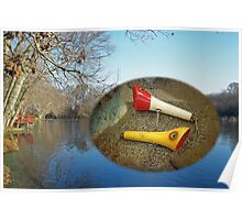 Berry Lebeck Ozark Lure 100 Series 3 Talkie Topper - Fishing Poster