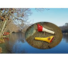 Berry Lebeck Ozark Lure 100 Series 3 Talkie Topper - Fishing Photographic Print